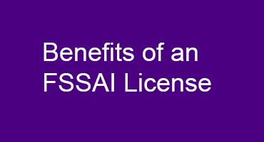 Benefits of an FSSAI License
