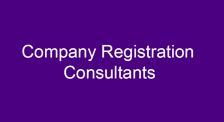 Company Registration Consultants in Cox Town