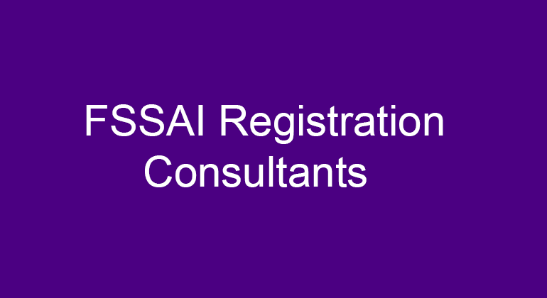 FSSAI Registration Consultants in Gangavathi