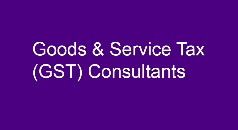 GST Consultants in Ejipura